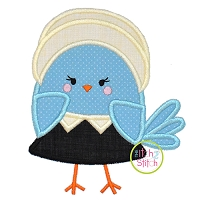 Pilgrim Bird Girl Applique