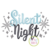 Silent Night Embroidery