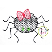 Spider Girl Motif Embroidery