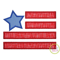Star Flag Applique