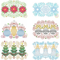 Super Swirly Christmas Trio Sketch Design Set