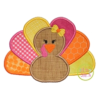 Turkey Girl Applique