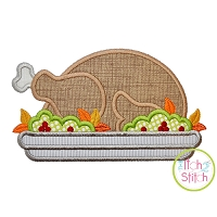 Turkey Platter Applique