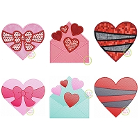 Valentine Hearts 2021 Design Set