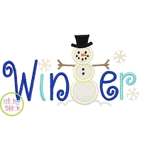 Winter Applique
