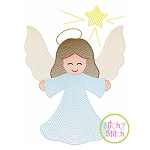 Angel Star Sketch Embroidery