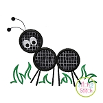Ant in Grass Applique