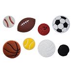 Sports Ball Applique Set