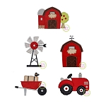 Barnyard Applique Set