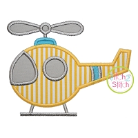 Basic Helicopter Applique