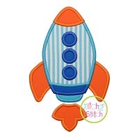 Basic Rocket Applique