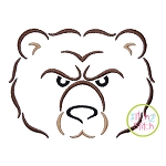 Bear Mascot Embroidery
