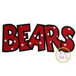 Bears Applique