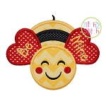 Bee Mine Applique