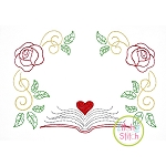 Book Princess Frame Embroidery