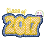 Class of 2017 Double Applique