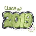 Class of 2019 Double Applique