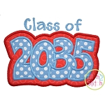 Class of 2035 Double Applique