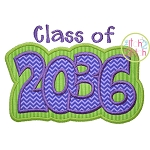 Class of 2036 Double Applique
