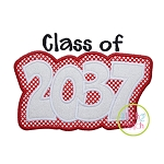 Class of 2037 Double Applique