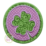 Double Circle Shamrock Applique