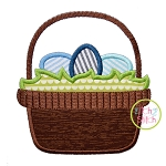 Easter Basket 2 Applique