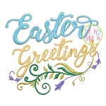 Easter Greetings Embroidery