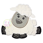 Easter Lamb Boy Applique