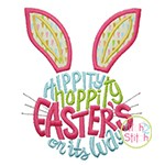 Easter's on its Way Applique