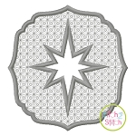 Embossed Star Embroidery