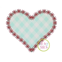 Fancy Heart Applique