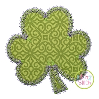 Fancy Shamrock Applique
