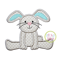 Floppy Bunny Boy Applique