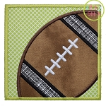 Football Box Applique
