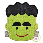 Frankenstein Face Applique