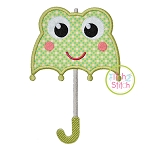 Frog Umbrella Applique