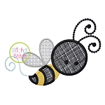Girly Bee Applique