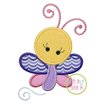 Girly Butterfly Applique