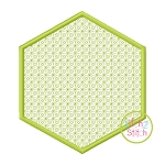 Hexagon Motif Embroidery