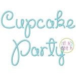Cupcake Party Embroidery Font