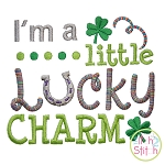 I'm a Little Lucky Charm Embroidery