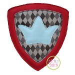 Knight Shield Bean Applique