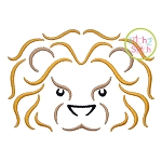Lion Mascot Embroidery