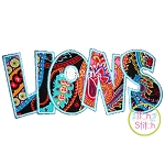 Lions Applique
