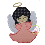Little Angel Girl Applique