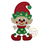 Little Elfie Boy Applique