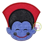 Little Dracula Face Applique