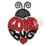 Love Bug Ladybug 2 Applique