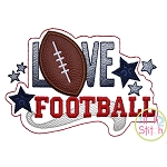 Love Football Applique