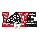 Megaphone Love 2 Applique